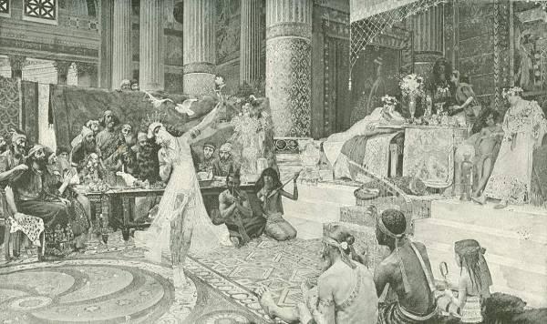 Salome Dancing Before King Herod